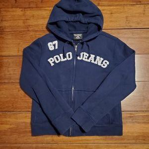 Polo by Ralph Lauren Womens Zip-Up Hoodie